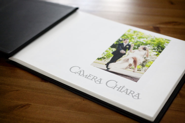Wedding photobook Fine-Art bound by hand