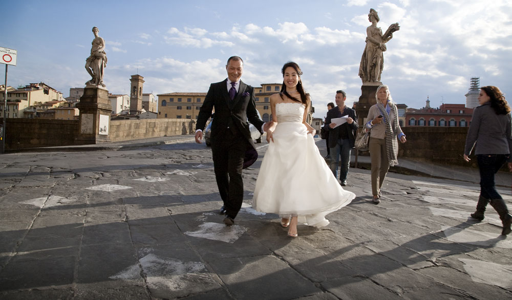 fotografo matrimonio in Firenze